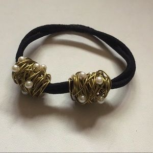Accessories - Copper Wire Pony Tail Hair Tie